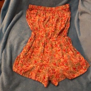 Angie romper size small floral print